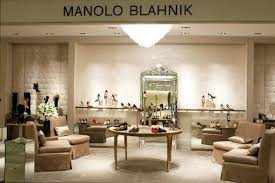 Manolo Blahnik opens in store at Saks Fifth Avenue NYC CPP LUXURY