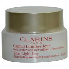 Vital Light Day Cream Buy Clarins Vital Light Night Revitalizing Anti Ageing