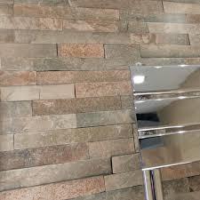 3d stone wall brick effect shower panels