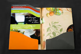 Company Profile Folder And Inserts - Girling Design Studios