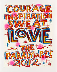 Bob and Roberta Smith Official London 2012 Paralympic