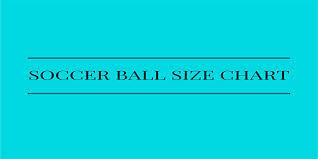 Yoga Ball Size Chart Soccer Ball Size Chart Best Soccer Balls