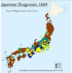 Tokugawa Shogunate Map