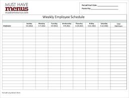 6 Week Work Schedule Template Weekly Work Schedule Template Word Work Schedule Template Word