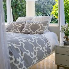 modern gray duvet cover sweetgalas