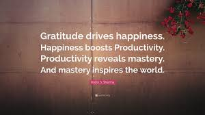 wallpaper gratitude with happiness quote