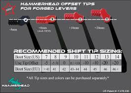 Shift Size Chart Size Chart Hammerhead Designs Inc