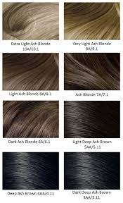 Light Ash Brown Hair Color Chart In 2019 Ash Brown