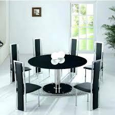 black round dining table set modern round dining table and chairs modern round dining table for