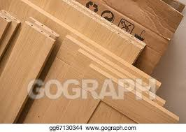 Cheap flat pack furniture Laser Cut Pieces Of Flat Pack Furniture Dezeen Stock Photography Pieces Of Flat Pack Furniture Stock Photo