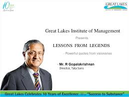Quotes From New Inspiring Words From R Gopalakrishnan Lessons From Legends