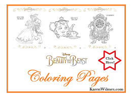 Small Picture BEAUTY AND THE BEAST Coloring Pages