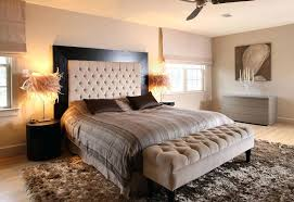 Beige Bedroom Ideas Pretty Tufted Bench Method Dc Metro Contemporary Image  With Headboard Ottoman Walls Black . Beige Bedroom Ideas ...