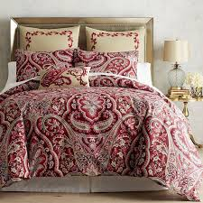 image of duvet cover red themes
