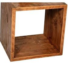 wood cube table rustic cube reclaimed wood side table wood cube coffee table