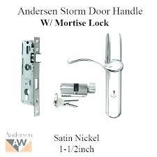 door handle installation screen door pull mounting height
