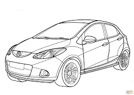 Hatchback drawing at getdrawings free for personal use