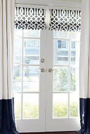 Best 25+ French door curtains ideas on Pinterest | Curtains or blinds for french  doors, Curtain for door window and Door window covering