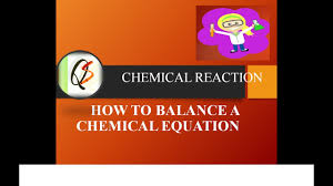 chemical reactions and equations how to balance chemical equations class 10 chemistry in hindi