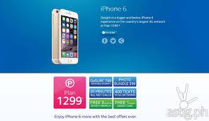 Globe Plan Iphone 5s