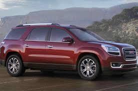 Buick Gmc Acadia 2012 Vs 2013 Enclave Chevrolet Traverse Saturn ...