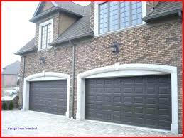 garage door trim best header exterior window trims ideas u decoration with rubber seal