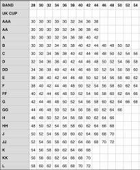 Bra Grading Charts The Anatomy Of A Bra Kimtimates