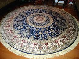 details about silk rugs 8 round navy rug circle floor carpet wool thomasville 8x10 8 round area rugs feet fascinating rug circular wool