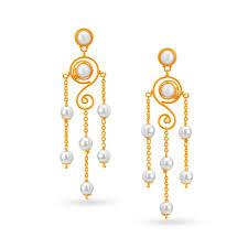 Designer Earrings Rings Buy Gold Diamond Earrings Online Latest Gold Earrings