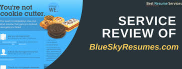 Blue Sky Resumes Review Best Resume Services Delectable Blue Sky Resumes