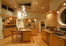 sloped ceiling lighting. Image Of: Sloped Ceiling Lighting Kitchen T