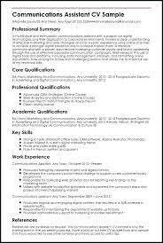 communications resume samples communication resume sample ma resume examples skills on resume