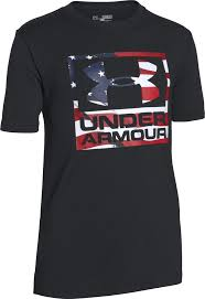 under armour shirts for boys. under armour boys\u0027 big flag logo t-shirt shirts for boys