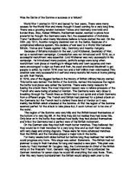 was the battle of the somme a success or a failure gcse english  page 1 zoom in