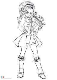 Coloring Pages Descendants Coloring Pictures Pages Staggering
