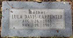 Lula Leola Stewart Carpenter (1885-1965) - Find A Grave Memorial