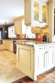 traditional antique white kitchens. Best Off White Color For Kitchen Cabinets Traditional Antique Brown Wall Cabinet Kitchens
