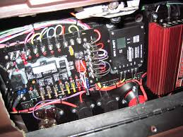 extra wiring fuse block general motors a g might be more than you want but i used a k r performance wiring kit mounted it in my glove box