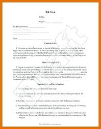 Cost Proposal Template Word Estimate Proposal Template Sample Order Forms Best Of
