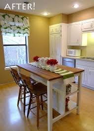 Kitchen Islands On Wheels With Seating kitchen island on wheels
