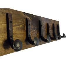 Railroad Coat Rack Rustic Coat Racks Easy Home Concepts 76