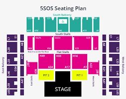 Ed Sheeran Acc Seating Chart 5sos Seating Plan Click To Enlarge Brighton Centre Seating