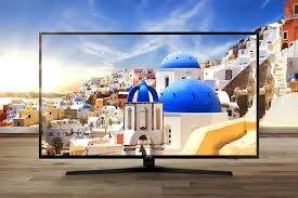 samsung tv 70. bright and lively whale\u0027s tale image is on samsung uhd tv screen. tv 70