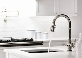 Polished Brass Kitchen Faucet Good Durability Of Kohler Kitchen Faucet Kitchen Tub Fixtures