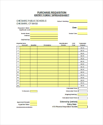 Purchase Request Form Template Excel 22 Requisition Forms In Excel