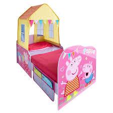 Peppa pig toddler feature bed toysrus australia decoração e