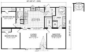 double wide mobile home floor plans. Perfect Plans Arcola  3 Beds  2 Baths 1067 SqFt 28 X 40 Double Wide Intermediate  Priced Homes To Mobile Home Floor Plans U