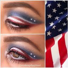 july 4th makeup look tutorial