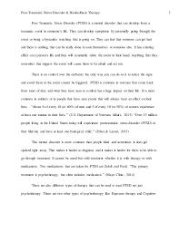hcs ptsd case study paper post traumatic stress disorder