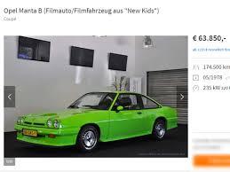 Wer hat Interesse? Opel Manta aus